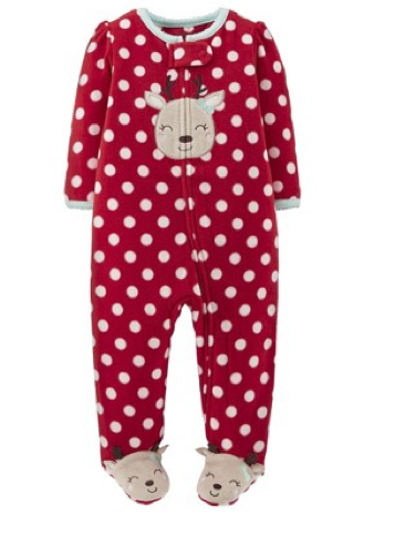 Christmas Pajamas for Baby Girls |